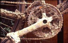 Dirty Bicycle Chain